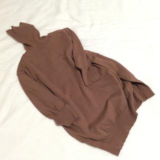 ドゥロワー(Drawer)のドゥロワー コットンシルク 五分袖ニット drawer(ニット/セーター)