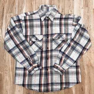 80's FIVE BROTHER flannel shirt(シャツ)