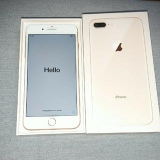 アップル(Apple)のiPhone8Plus 256G Gold♪ SIMフリー♪(スマートフォン本体)