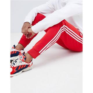 アディダス(adidas)の【Lサイズ】新品タグ付 adidas スーパースター トラックパンツ レッド(その他)
