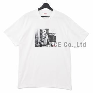 シュプリーム(Supreme)のSupreme Hiding From Indians Tee 白XL(Tシャツ/カットソー(半袖/袖なし))