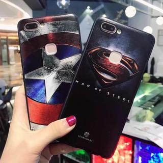 アイフォーン(iPhone)のセール スーパーマン &キャプテンアメリカ (iPhoneケース)