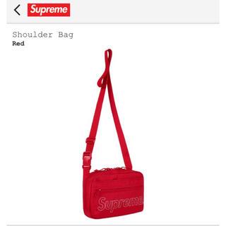 シュプリーム(Supreme)の【新品未使用】Supreme 18fw shoulder Bag Red 赤(ショルダーバッグ)