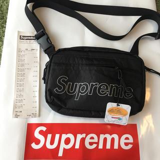 シュプリーム(Supreme)の18FW Supreme Shoulder Bag Black 黒(ショルダーバッグ)