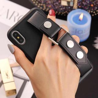 アイフォーン(iPhone)の★新作iphoneケース クールレザー風 手持ち ソフトケース (iPhoneケース)