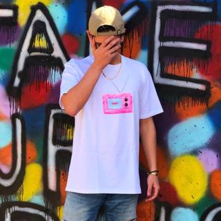 シュプリーム(Supreme)の試着なし L Supreme TV Tee White 野村周平 着用(Tシャツ/カットソー(半袖/袖なし))