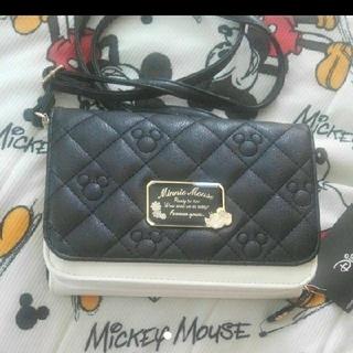 ディズニー(Disney)の新品 お財布ショルダー 長財布 ミッキー ミニー ディズニー(財布)