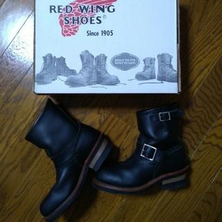 レッドウィング(REDWING)のRED WING SHOES ショート エンジニア 23 美品☆(ブーツ)