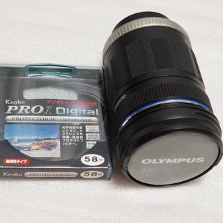 オリンパス(OLYMPUS)のオリンパス 美品 望遠レンズ 40-150mm F4.0-5.6 フィルター付(レンズ(ズーム))