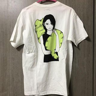 シュプリーム(Supreme)のkyne Tシャツ ポータースタンド  Mサイズ(Tシャツ/カットソー(半袖/袖なし))