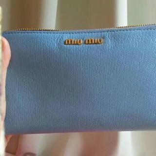 ミュウミュウ(miumiu)のMIU MIU ミウミウ 財布(財布)