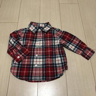 ベビーギャップ(babyGAP)のベビーギャップ シャツ 80(シャツ/カットソー)