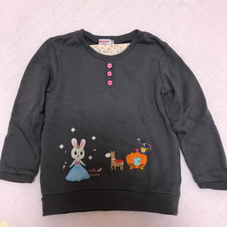 ミキハウス(mikihouse)の送料込みミキハウスうさこちゃんシンデレラトレーナー☆110サイズ(Tシャツ/カットソー)