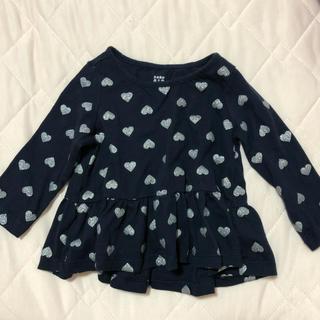 ベビーギャップ(babyGAP)のGAP ♡ ロンT ♡ ペプラムトップス(Tシャツ)