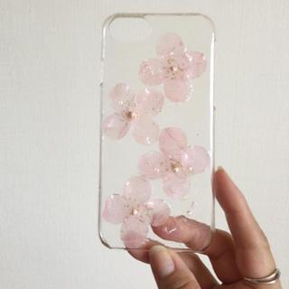 スマホケース  桜 iPhone 8/7/6/6s 専用(iPhoneケース)