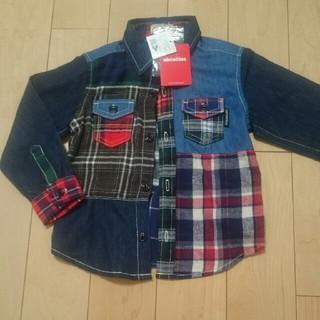 ミキハウス(mikihouse)の新品ミキハウスシャツ100cm(Tシャツ/カットソー)