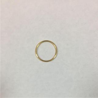 ステンレス ゴールド リング 4号(リング(指輪))