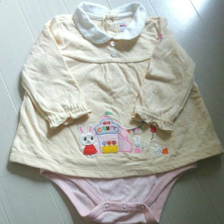 ミキハウス(mikihouse)のミキハウス☆ロンパースsize70(ロンパース)