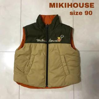 ミキハウス(mikihouse)のMIKIHOUSE リバーシブル ベスト90(ジャケット/上着)