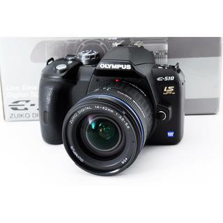 オリンパス(OLYMPUS)の★カメラ初心者おすすめ★オリンパス E-510 レンズキット(デジタル一眼)