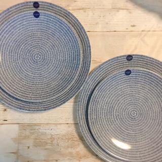アラビア(ARABIA)のアラビア ARABIA 24h アベックavec 20&26cmプレート 4枚(食器)
