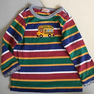ミキハウス(mikihouse)のミキハウス プッチー君 ロングTシャツ90(Tシャツ/カットソー)