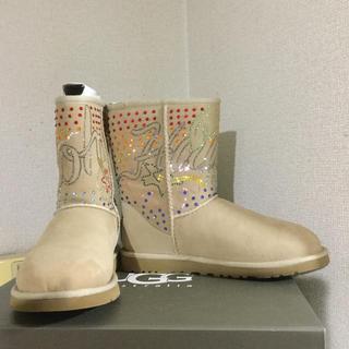アグ(UGG)のUGG★アグ限定商品スワロフスキージュエルハワイサイズ6(ブーツ)