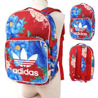アディダス(adidas)の赤 花柄   リュック   アディダスオリジナルス(リュック/バックパック)