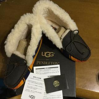 アグ(UGG)のUGG★アグ限定コラボサイズ7ALENAモカシンローファー(ブーツ)