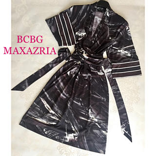 ビーシービージーマックスアズリア(BCBGMAXAZRIA)の【Mie Mie様専用】BCBG MAXAZRIA/ワンピース サイズS(ひざ丈ワンピース)