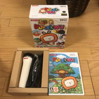 ウィー(Wii)の【幼児英才教育】任天堂Wii KONAMIテレしばいソフト(USBマイク同梱版)(家庭用ゲーム本体)