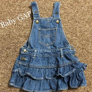 ベビーギャップ(babyGAP)のGAP babygap ジャンパースカート(ワンピース)