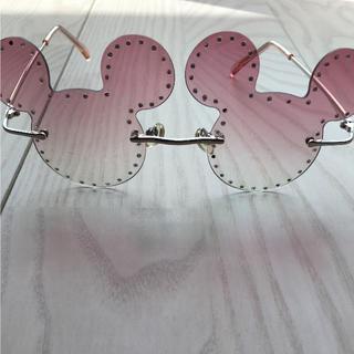 ディズニー(Disney)の東京ディズニーランド ミッキー型 サングラス(サングラス/メガネ)