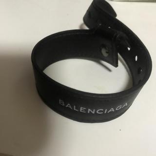 バレンシアガ(Balenciaga)のBalenciaga レザーバングル 18ss(バングル/リストバンド)