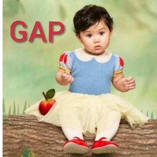 ベビーギャップ(babyGAP)の新品GAP♥️70cm白雪姫ワンピース❗(ワンピース)