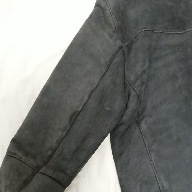 BURBERRY(バーバリー)の値下げ 美品 BURBERRY メンズ バーバリー ムートンジャケット ブルゾン メンズのジャケット/アウター(その他)の商品写真