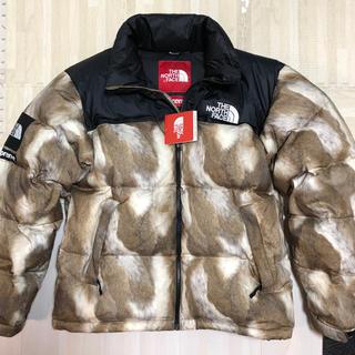 シュプリーム(Supreme)のSupreme/TheNorthFace Fur Nuptse jacket M(ダウンジャケット)