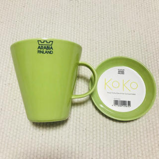 アラビア(ARABIA)のARABIA KoKo マグカップ&プレートセット(食器)