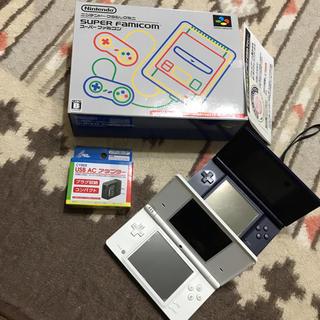 未開封新品 ニンテンドー クラシックミニ スーパーファミコン DS×2