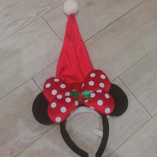 ディズニー(Disney)のミニーちゃんサンタカチューシャ(カチューシャ)