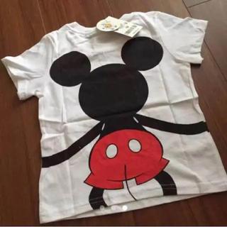 ディズニー(Disney)の新品 ミッキー Tシャツ 100cm(Tシャツ/カットソー)