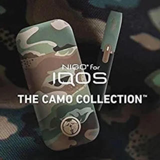 iQOS 2.4 Plus CAMO DEVICE 迷彩柄 キット