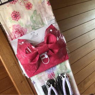 ディズニー(Disney)の新品 ディズニー 浴衣 大人用 ラプンツェル パスカル プリンセス しまむら(浴衣)