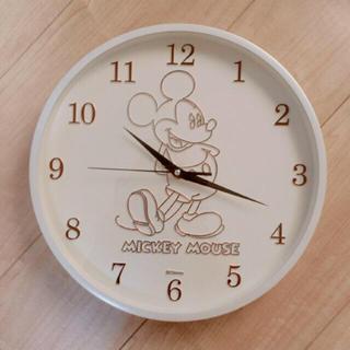 ディズニー(Disney)の【新品】ミッキーマウス 壁掛け時計 31cm(掛時計/柱時計)