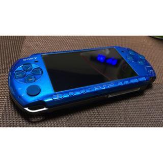 プレイステーションポータブル(PlayStation Portable)のbestest1977様専用 PSP3000 極上美品 ほぼ未使用 リング傷なし(携帯用ゲーム本体)