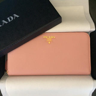 6b85000e056a プラダ(PRADA)の新品未使用 プラダ ラウンドジップ長財布サフィアーノレザー ピンク