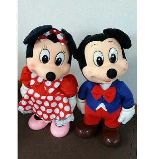 サンキョー(SANKYO)のミッキーマウス ミニーマウス オルゴール アンティーク 二つ一緒に☆(オルゴール)