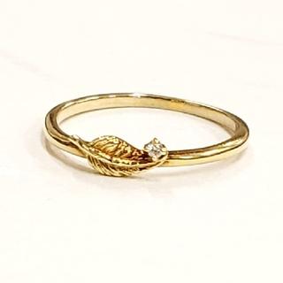アガット(agete)のageteダイヤモンドリング(リング(指輪))