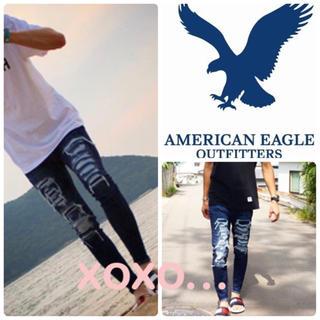 アメリカンイーグル(American Eagle)のアメリカンイーグル ダメージデニム(デニム/ジーンズ)