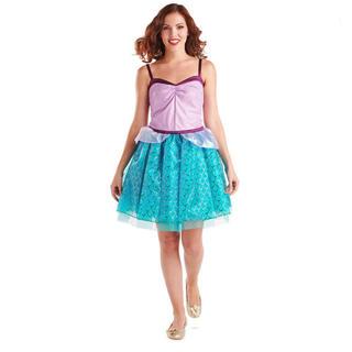 ディズニー(Disney)のUSディズニー限定♡アリエルモチーフドレス♡新品(ミニワンピース)